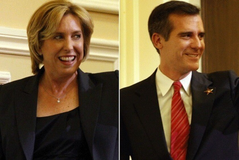 L.A. mayoral candidates face off in first TV debate