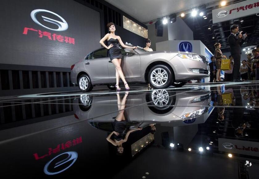 Guangzhou Automobile Group (GAC), el quinto mayor fabricante de automóviles de China, anunció hoy que invertirá 4,4 millones de dólares en Michigan para ampliar sus operaciones en Estados Unidos. EFE/ARCHIVO