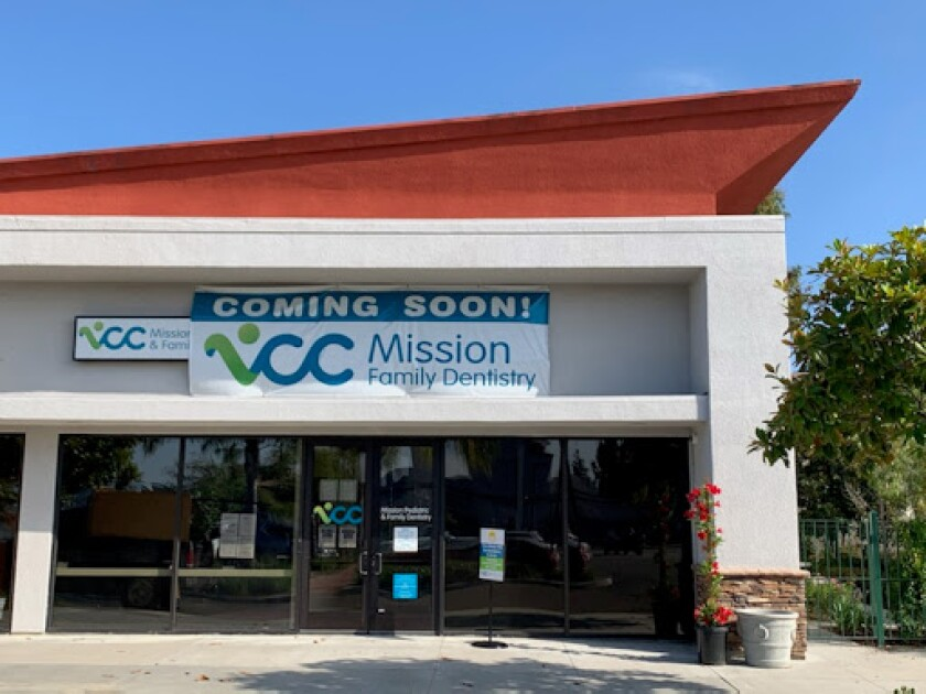 Vista Community Clinic's dental clinic is now open at 1910 Mission Ave., near downtown Oceanside.