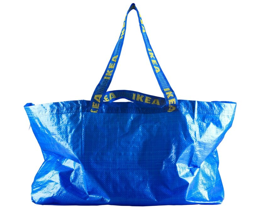 IKEA will be giving away these bags Thursday afternoon - but not at the store.
