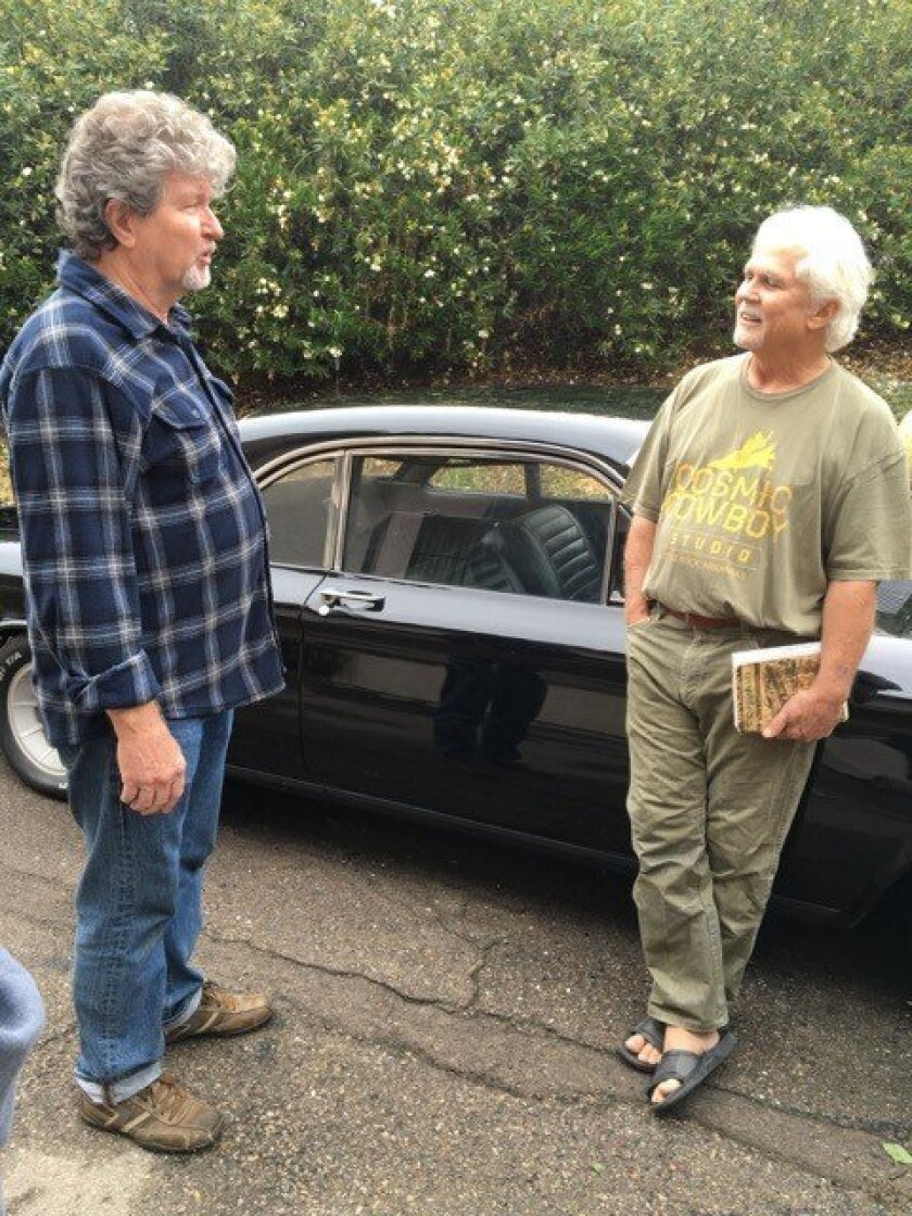"Marty Tryon tracked down Tony Dow, the former ""Leave It To Beaver"" actor, at the request of his good friend from Alpine who wanted to return this Corvair, Dow's first car, to him."