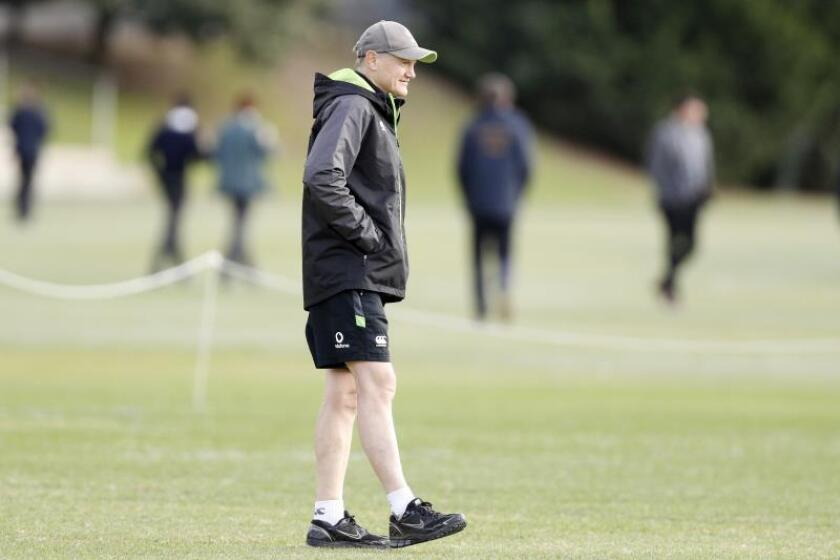 El entrenador de Irlanda, Joe Schmidt. EFE/Archivo