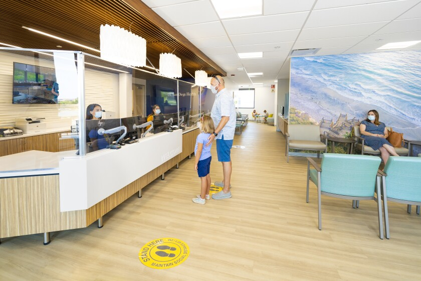 The new UC San Diego Health clinic is now open in the Village at Pacific Highlands Ranch.