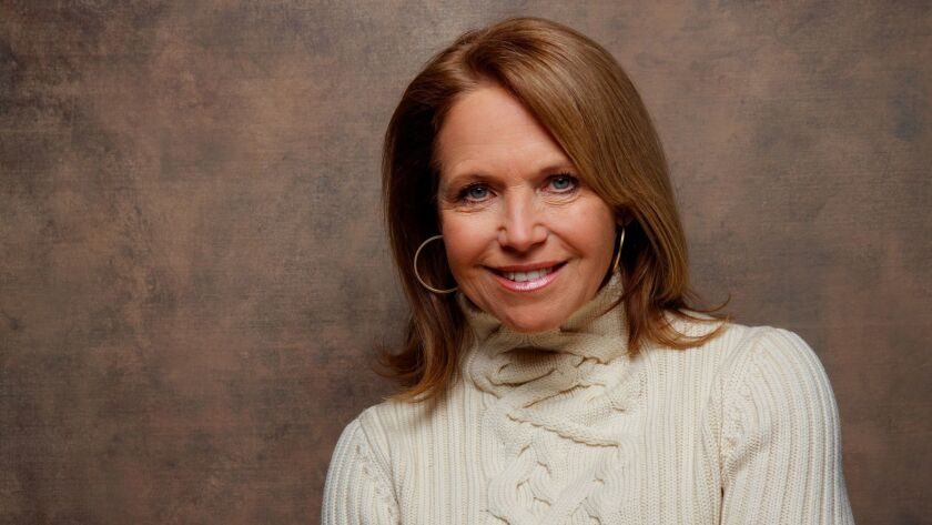 "Katie Couric, shown last January, was co-anchor of ""Today"" from 1991 to 2006."