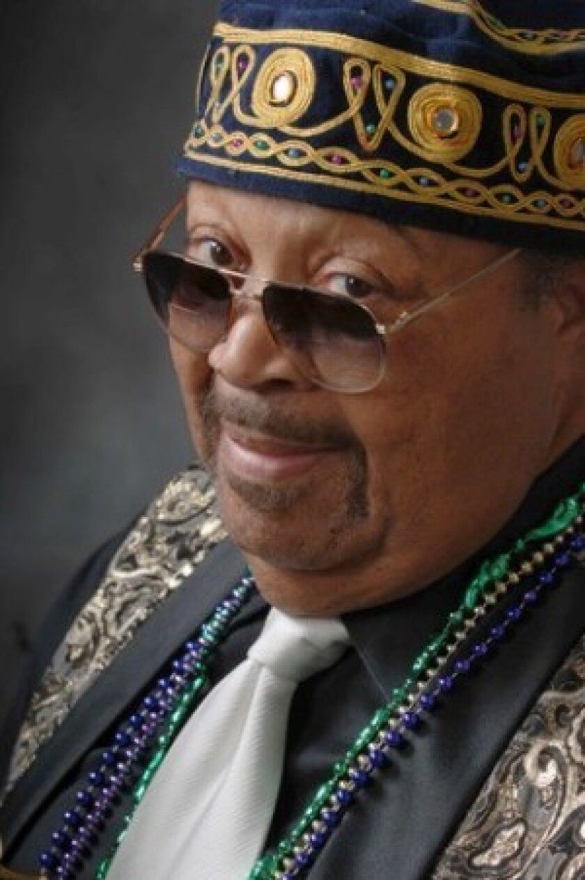 """Leroy Cooper played baritone saxophone with the Ray Charles band in the 1950s through the '70s. His tenure with the band included recording sessions that yielded the film theme """"In the Heat of the Night"""" and Charles' rendition of """"America, the Beautiful."""""""