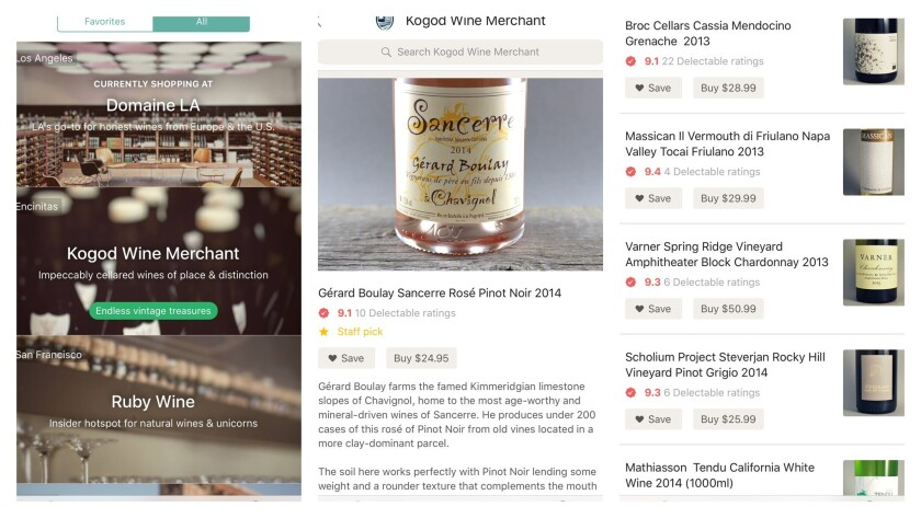 Banquet, a new wine-buying app from the team behind Delectable, makes it easy to order online from independent shops with a point of view.