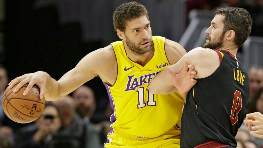 new style 30afb ee85d Newsletter: Lakers! Brook Lopez is the next frustrated ...