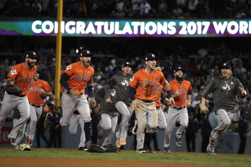 Houston Astros win the 2017 World Series