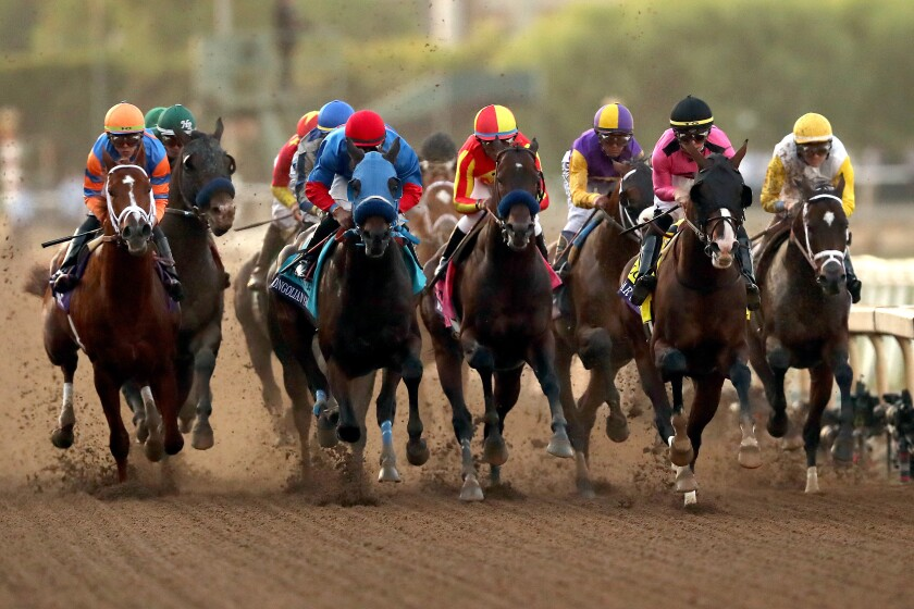 The Breeders' Cup Classic took place Nov. 2 at Santa Anita Park.