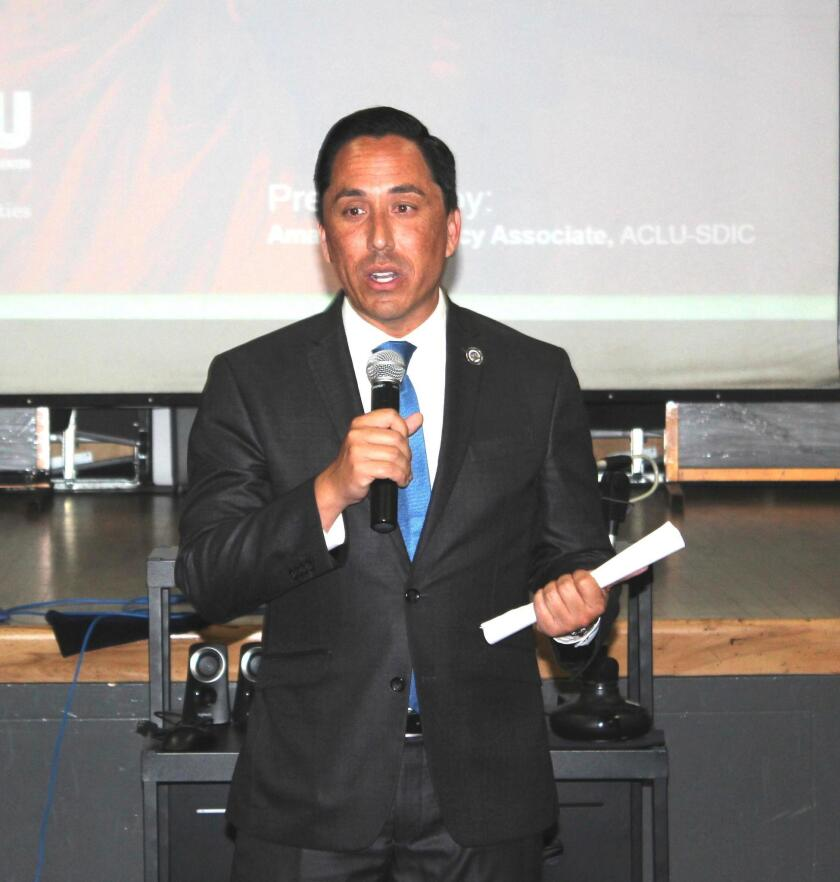 Assembly member Todd Gloria discusses housing bills SB 50 and AB 330.
