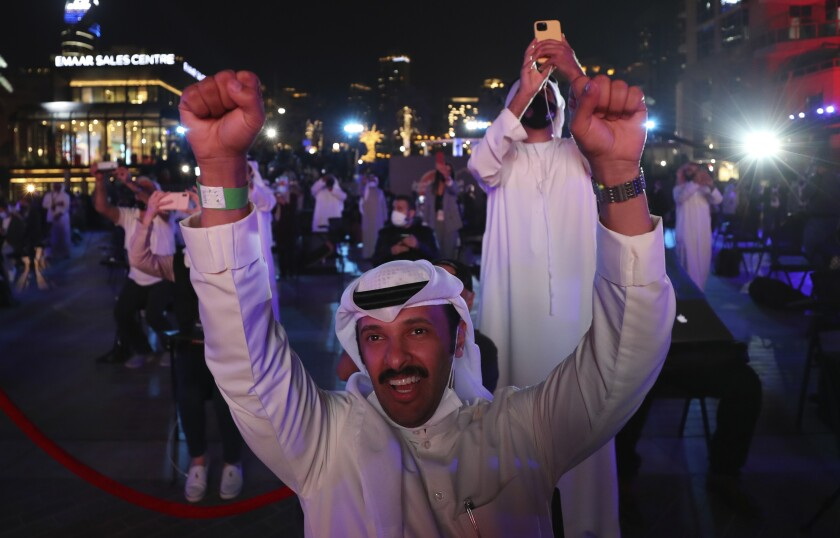 United Arab Emirates' Hope Mars probe
