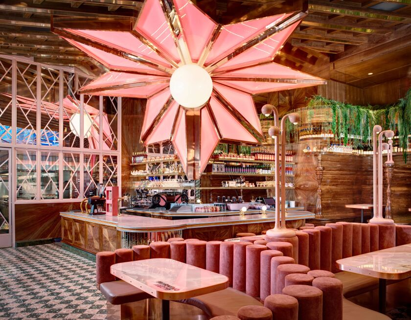 Morning Glory's over-the-top pink palace will serve breakfast for dinner