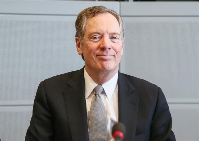 US trade representative Robert Lighthizer. EFE/EPA/POOL