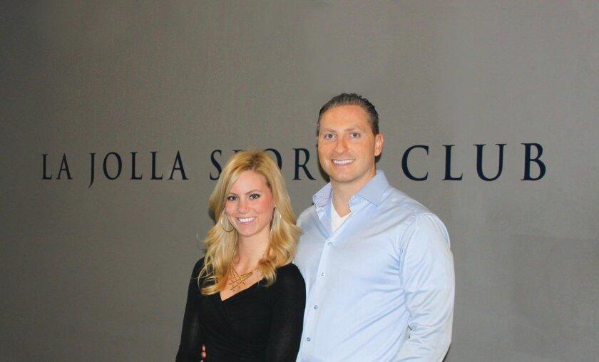 Kera and Brett Murphy of La Jolla Sports Club