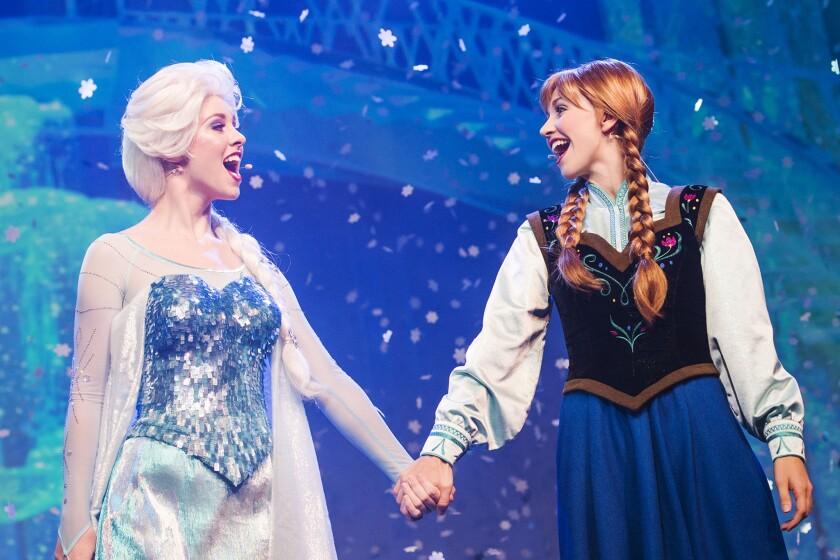 """Frozen"" at Disney California Adventure"