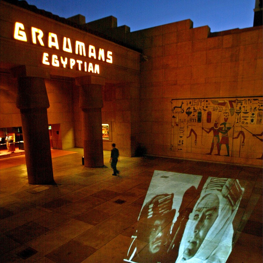 Hollywood's Egyptian Theatre