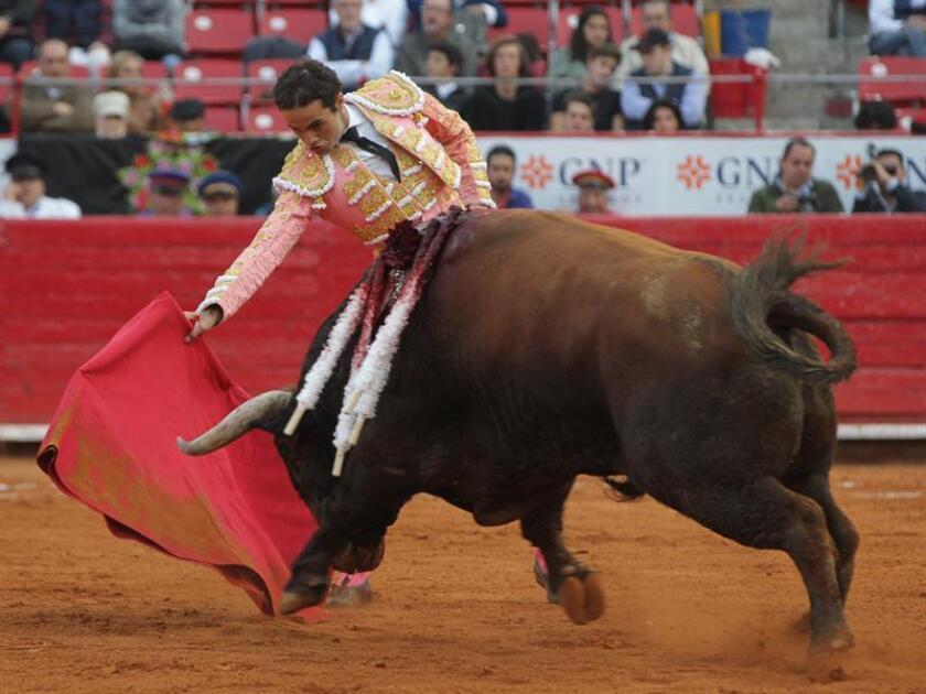 Imagen de archivo del torero mexicano Juan Pablo Sánchez. EFE/Archivo