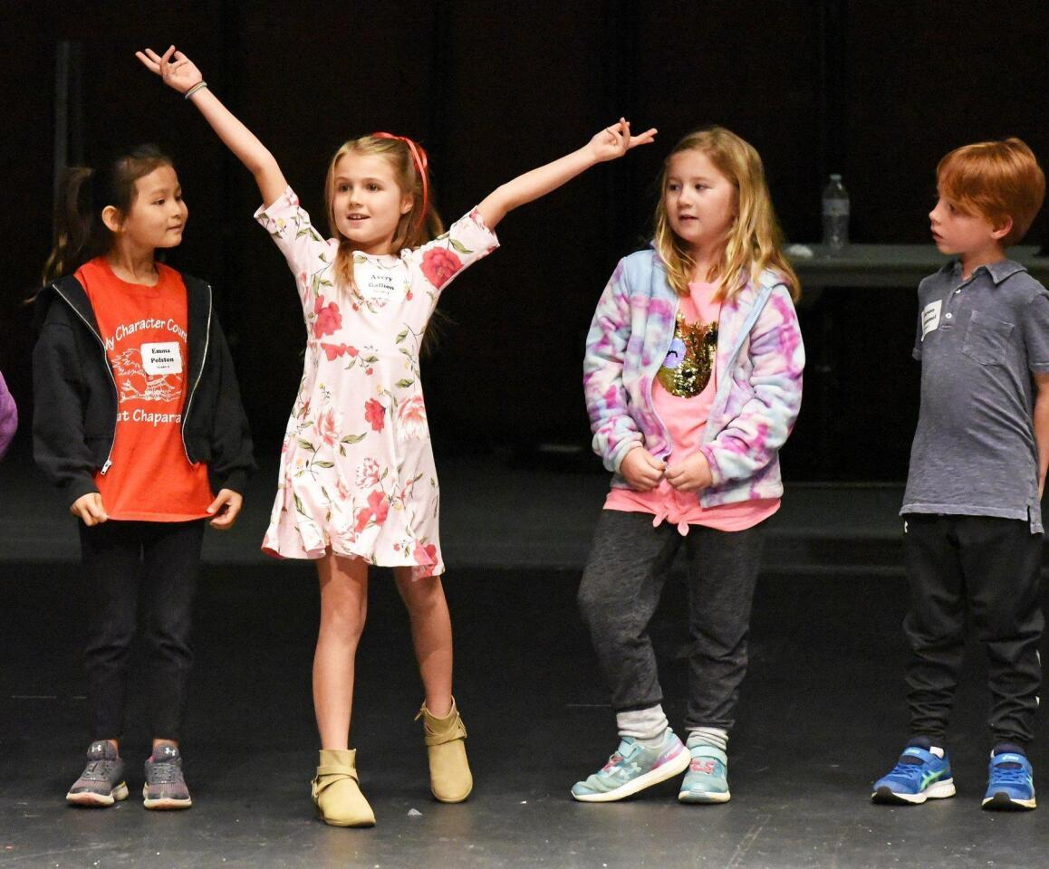 Poway OnStage Youth Musical Theater Camp - 3/4/2019