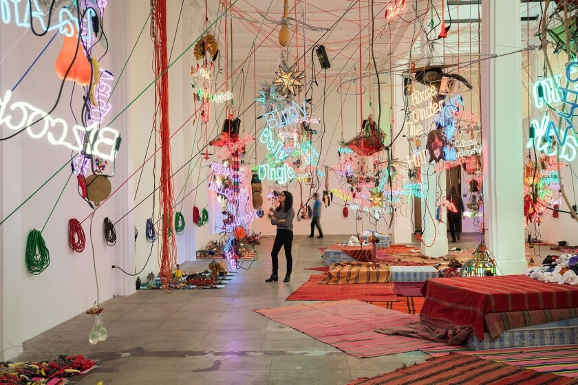 Jason Rhoades at Hauser Wirth