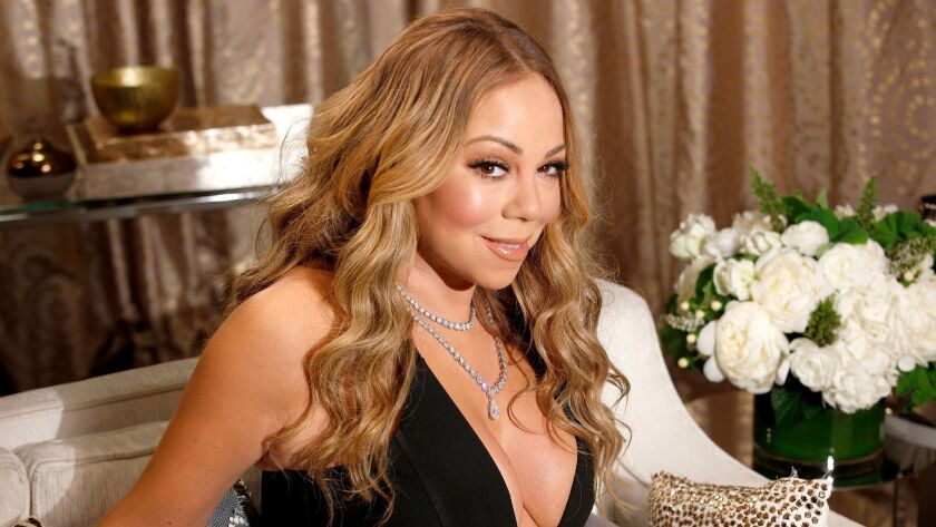 Mariah Carey just finished a two-year residency in Las Vegas. She's coming back around Christmastime for a handful of concerts at Caesars Palace.