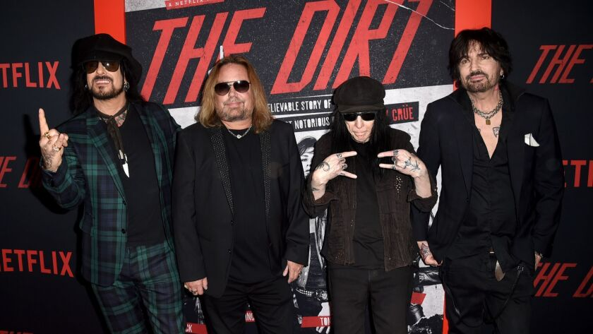 "Premiere Of Netflix's ""The Dirt"" - Arrivals"