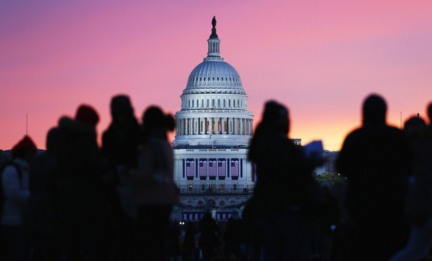 Forecast projects small Democratic gain in House in midterm election