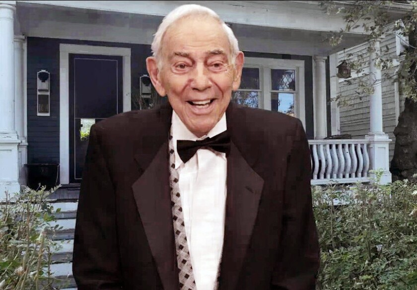 This undated image made from video released by HGB Entertainment Ltd. shows horror filmmaker Herschell Gordon Lewis.