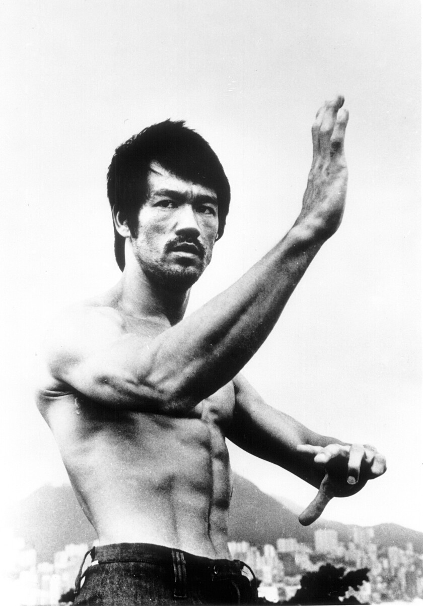"Bruce Lee is profiled in the ESPN documentary ""Be Water."""