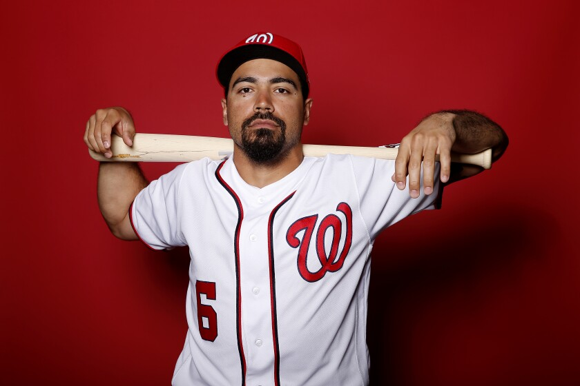 Anthony Rendon will wear the uniform of the Angels for the next seven years after agreeing to a $245-million contact.