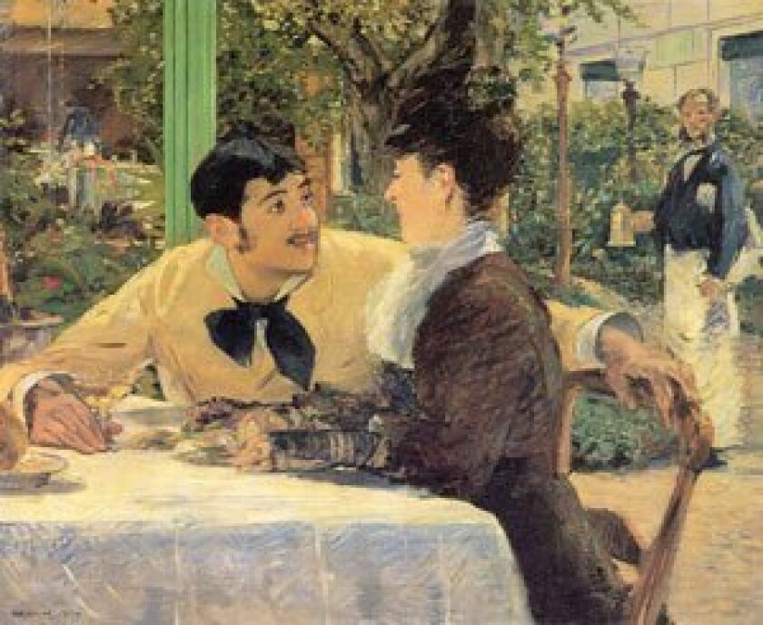 At Father Lathuille' (1879) Edouard Manet