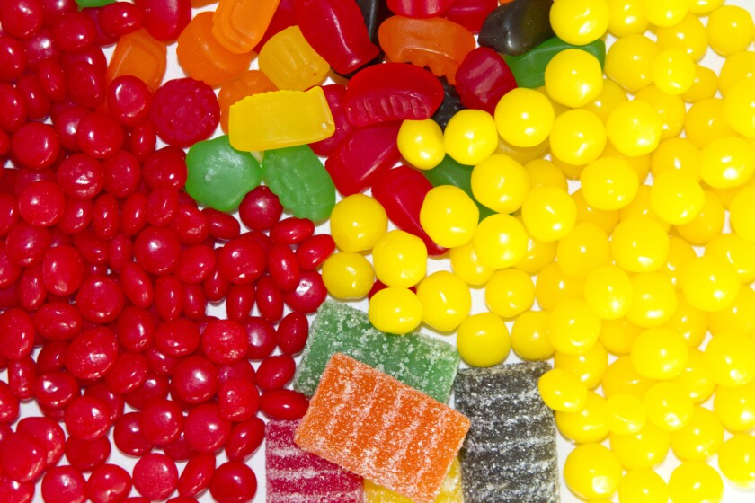 Taking a road trip? You're going to want candy.