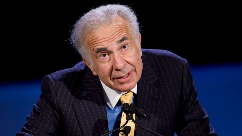 Private equity investor Carl Icahn in 2007.