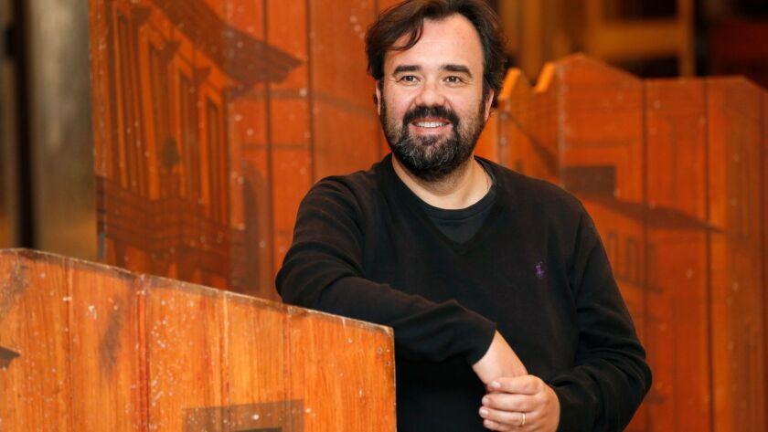 """Italian baritone Roberto de Candia plays the title role in San Diego Opera's production of Verdi's """"Falstaff."""""""