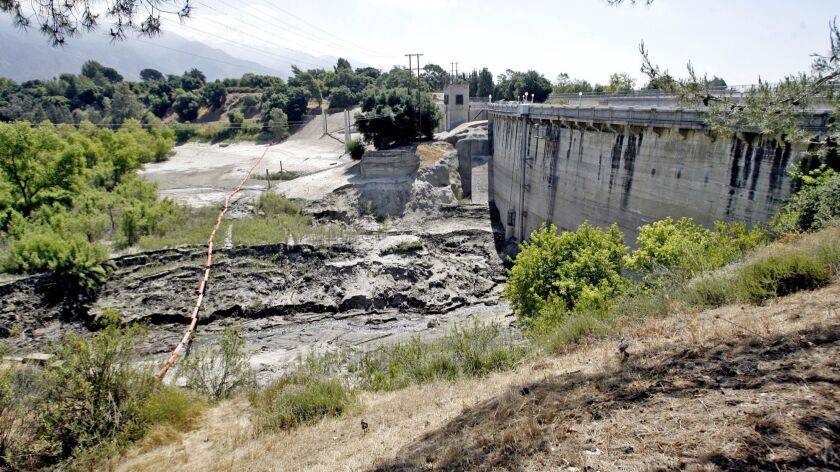 The L.A. County Public Works Dept. wants to excavate the area behind the Devil's Gate Dam in Pasaden