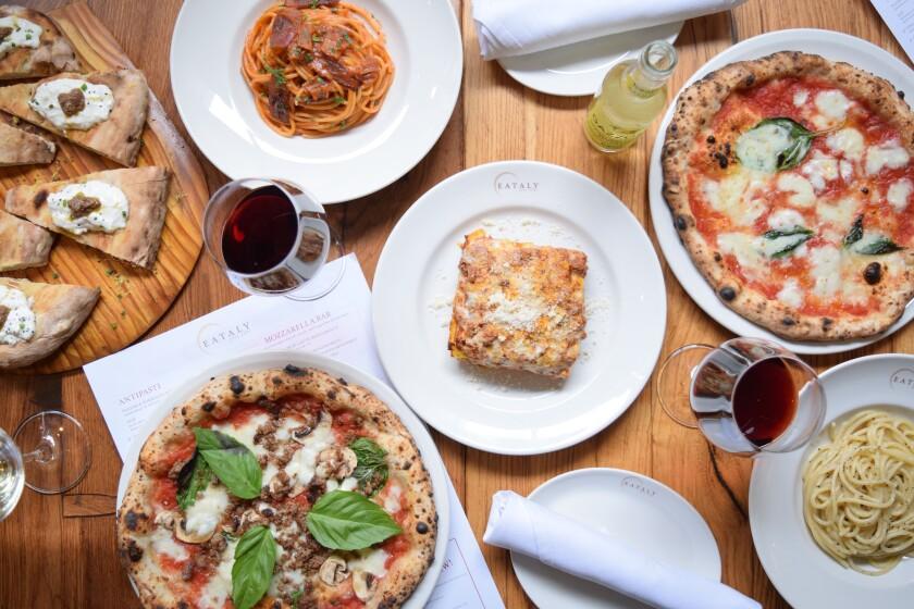 Eataly Las Vegas' La Pizza e La Pasta serves ultra-authentic versions of Italy's two main food groups.