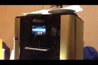 CES 2015: The XYZ 3-D food printer