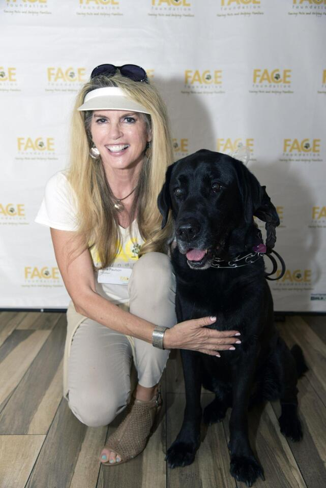 Laura Paulson with Wille