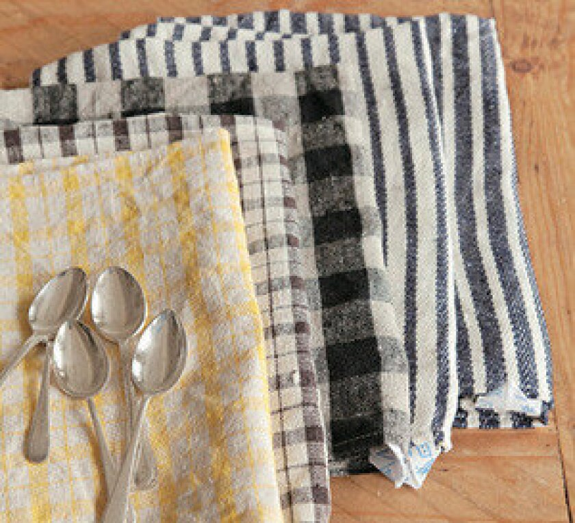 Cook's gift: Fog Linen dish towels