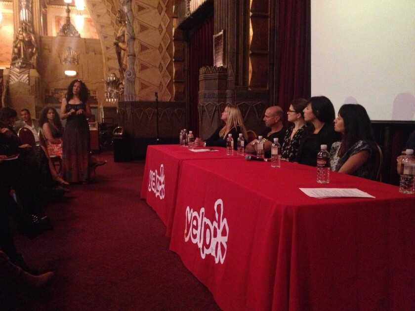 Tempers flare at Yelp's town hall for small business owners in L.A.