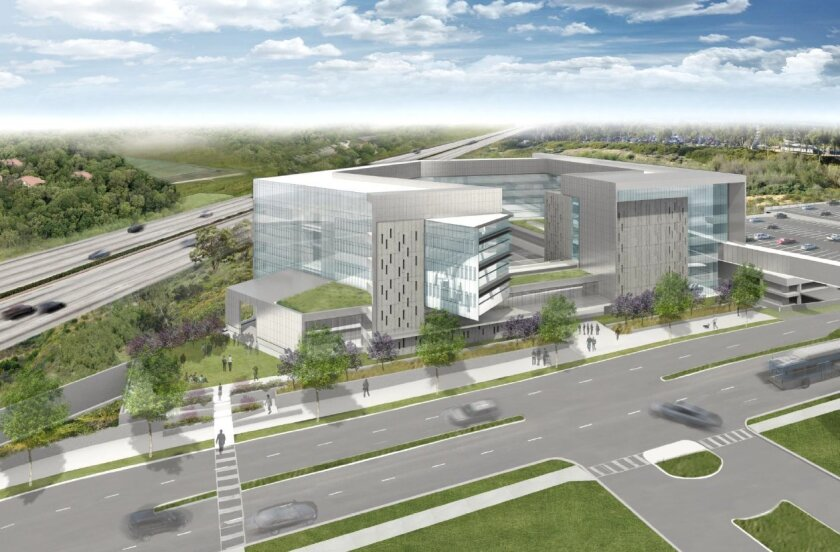 Artist's rendering of the Altman Clinical and Translational Research Institute