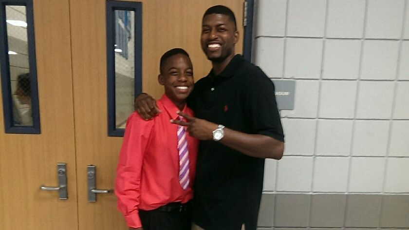 Jordan Edwards with his father, Odell Edwards.