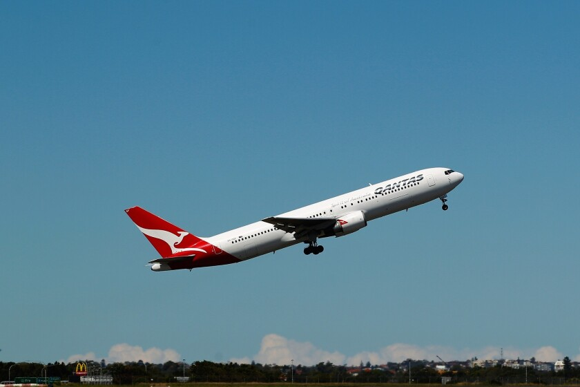 The Federal Aviation Administration has ordered inspections of Boeing 767 planes to check for problems that could cause a loss of control of the jets. Above, a Boeing 767 operated by Qantas Airways takes off in Australia last year.