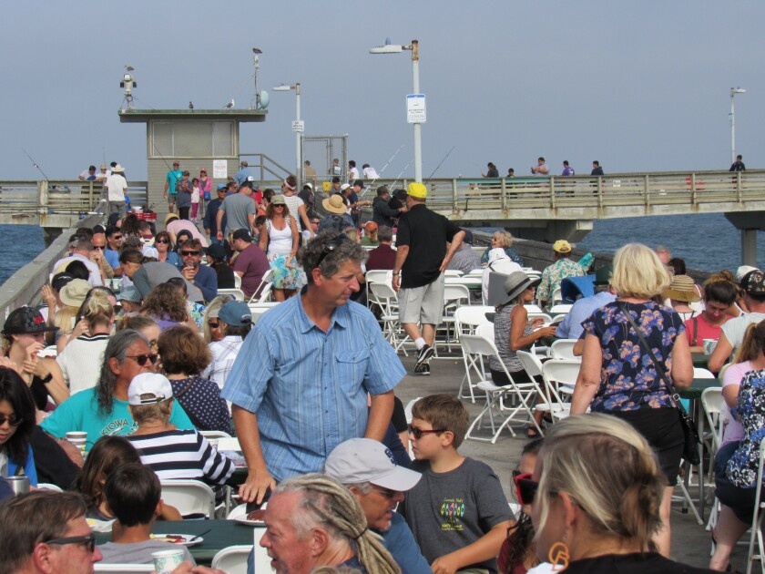 See and be seen! Last year's OB Pier Pancake Breakfast was a sell-out!