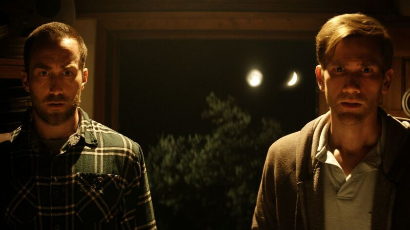 "Justin Benson and Aaron Moorhead in ""The Endless."""