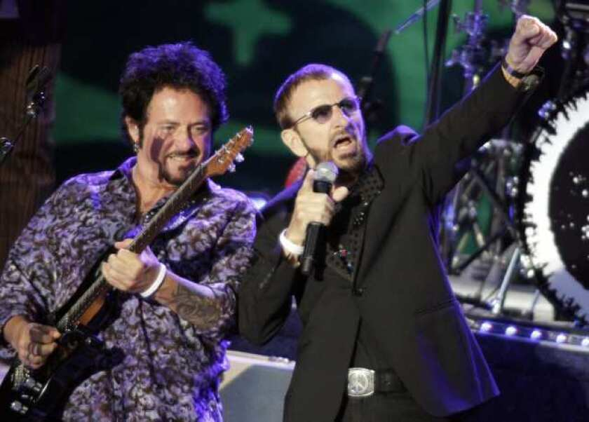 Review: Ringo Starr & His All-Starr Band at the Greek Theatre