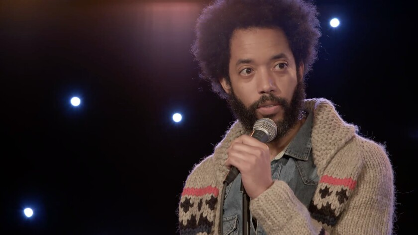 "Wyatt Cenac in ""Night Train With Wyatt Cenac."""