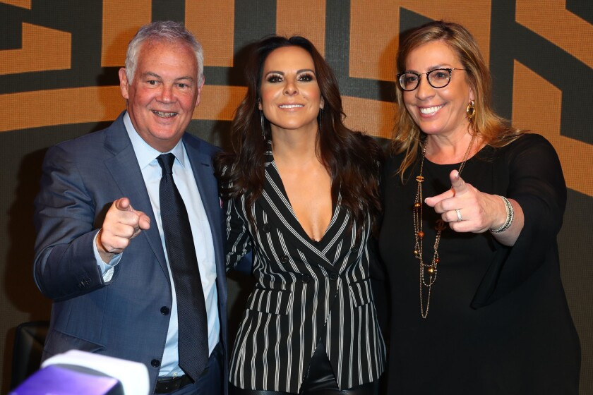 Superstar Kate del Castillo Announces Landmark Deal With Global MMA Brand Combate Americas At Press Conference In Los Angeles