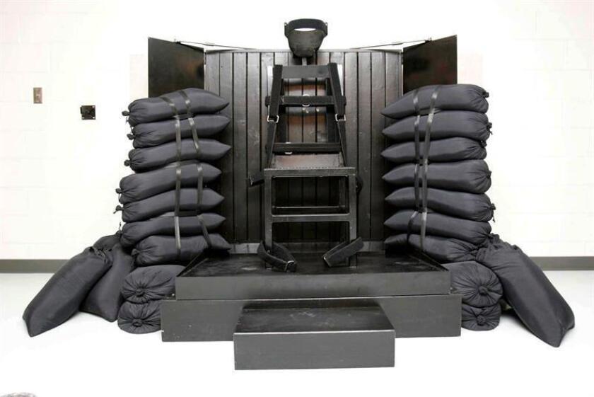 Imagen de la cámara de ejecución de una prisión estatal. EFE/Archivo