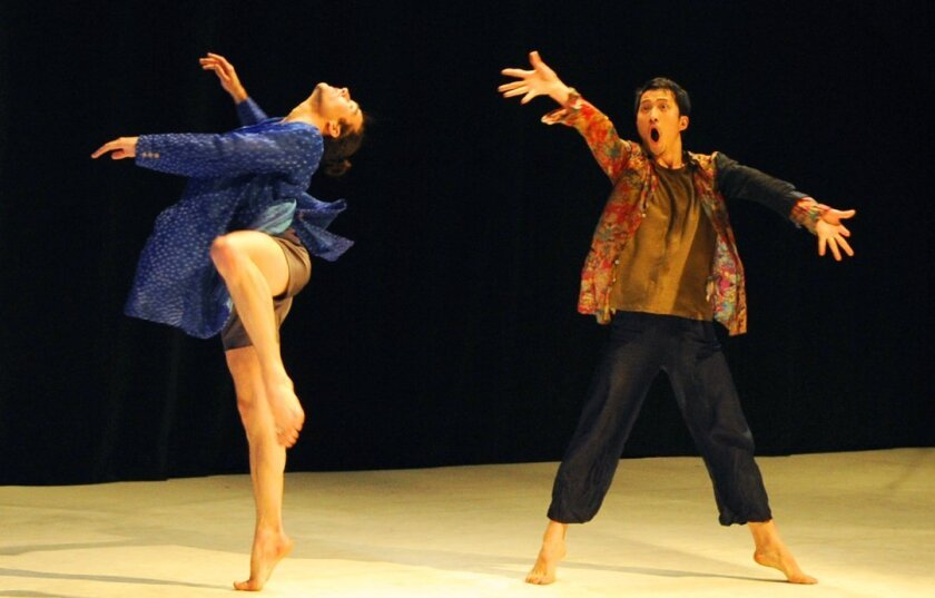 Kota Yamazaki and his dance company, Fluid/Hug-Hug, perform for ArtPower at UC San Diego on 8 p.m., Jan. 29, 2016 at Mandeville Auditorium on the UCSD campus.