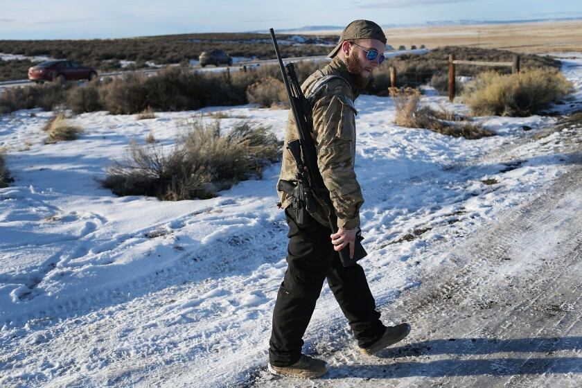 Oregon wildlife refuge occupation